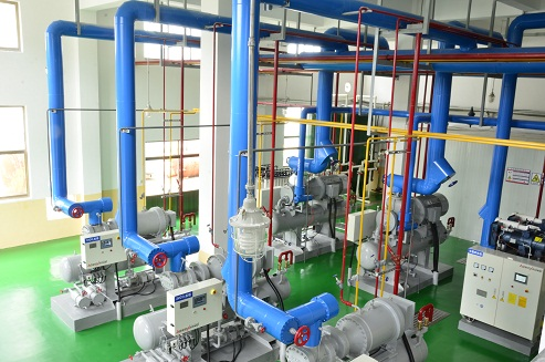 NH3/CO2 REFRIGERATION SYSTEM